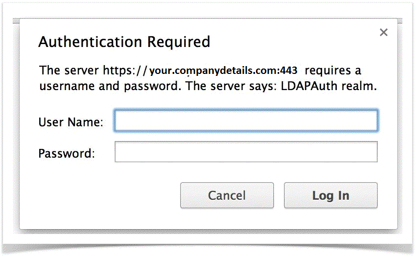 How to Configure LDAP Authentication for your JEE Application