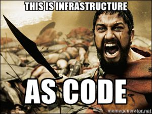 This is infrastructure as code